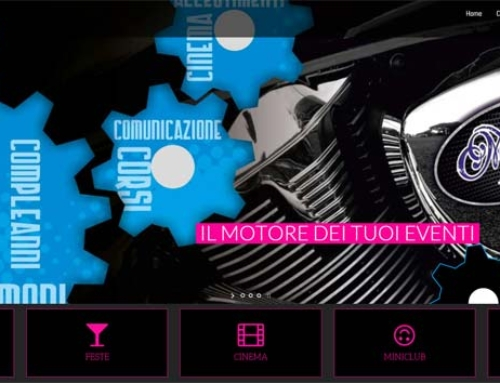 Realizzazione siti Internet Savona: sito agenzia di animazione