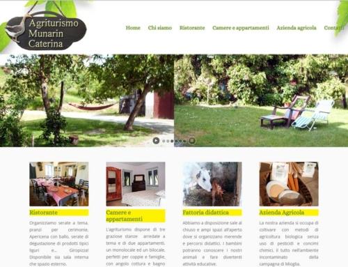 Restyling e posizionamento in prima pagina su Google del sito Agriturismo Munarin Caterina