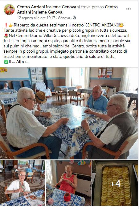 Campagna Facebook Genova
