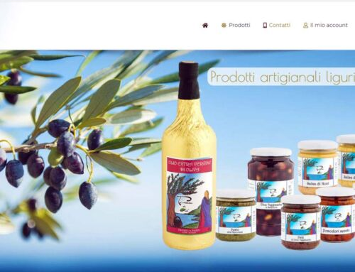 E-commerce olio ligure – Arenzano