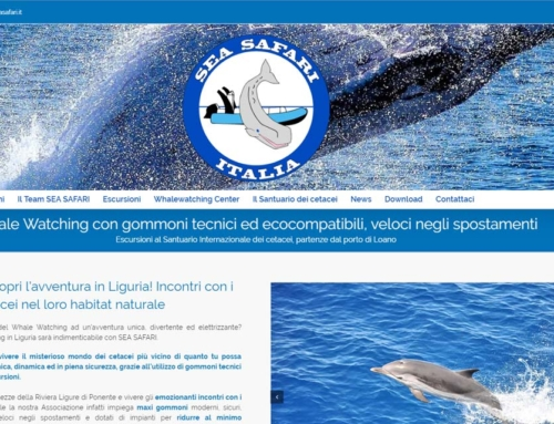Sito WEB Sea Safari di Loano