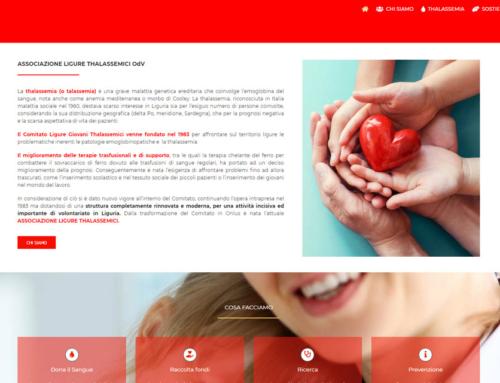 Sito Web Associazione volontari ALT di Genova