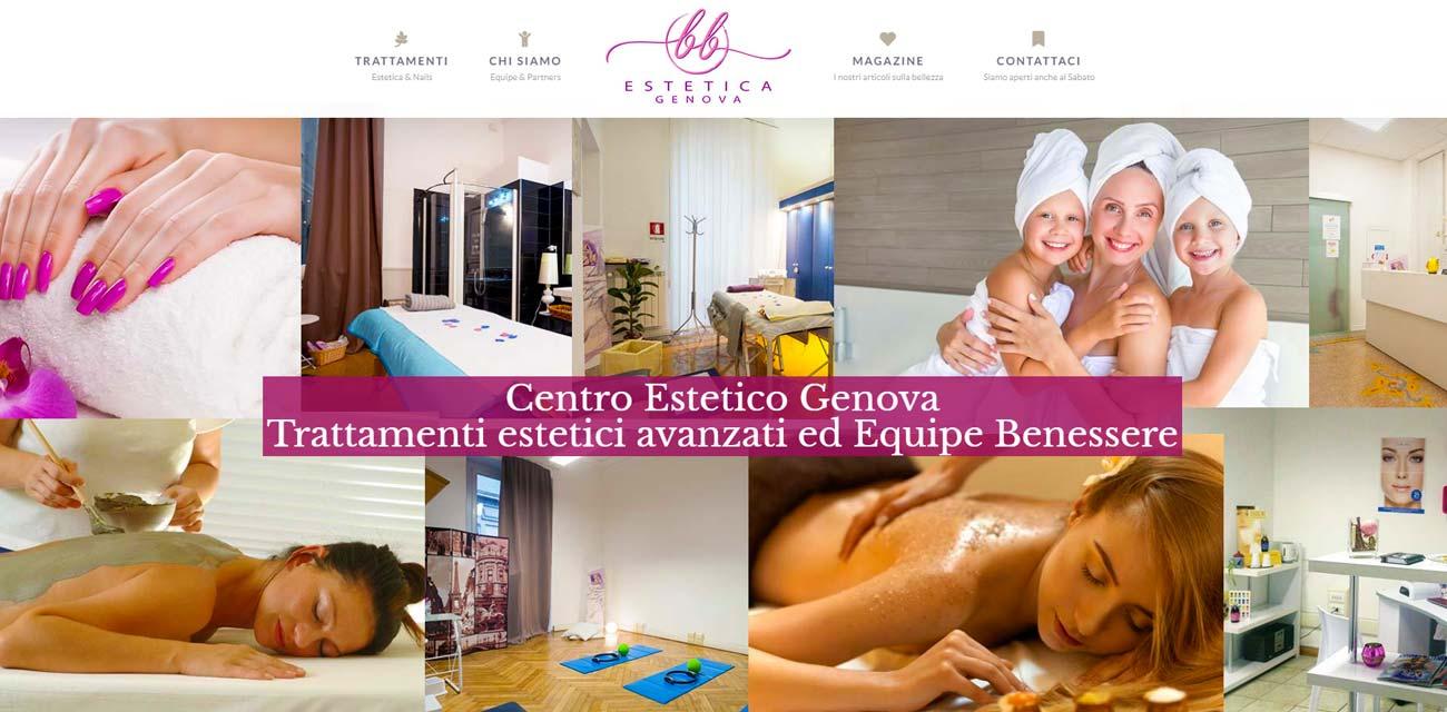 Centro estetico Genova Kamiko WEB agency Genova